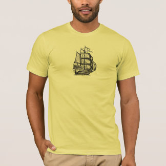 Tall ship cool t-shirt design