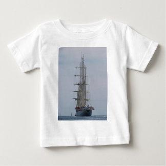 Tall Ship Entering The Open Sea Baby T-Shirt