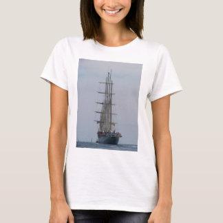 Tall Ship Entering The Open Sea T-Shirt