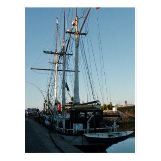 Tall Ship Frya Postcard