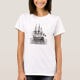 Tall Ship Hermione on the York River T-Shirt