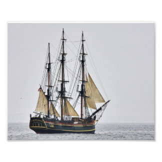 Tall Ship HMS Bounty Photo Print