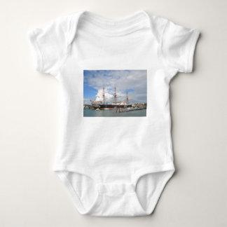 Tall Ship HMS Warrior Baby Bodysuit