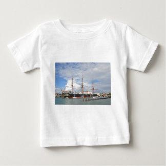 Tall Ship HMS Warrior Baby T-Shirt