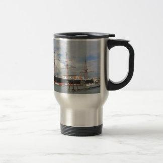 Tall Ship HMS Warrior Travel Mug