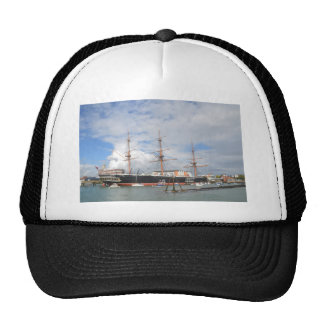 Tall Ship HMS Warrior Trucker Hat