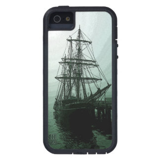 Tall ship in Fog S5 iphone case Case For iPhone 5