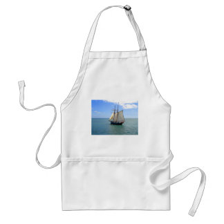 Tall Ship in the Bay of Islands, New Zealand Adult Apron