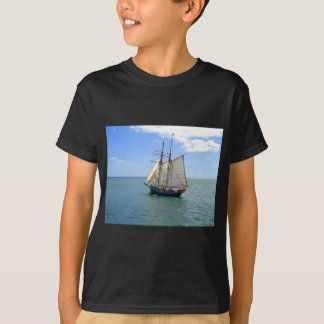 Tall Ship in the Bay of Islands, New Zealand T-Shirt