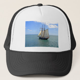 Tall Ship in the Bay of Islands, New Zealand Trucker Hat