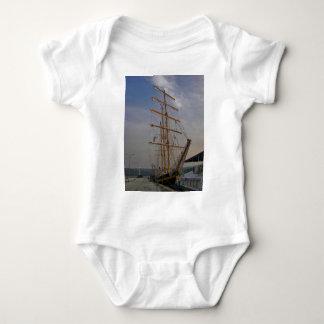 Tall Ship In Varna Baby Bodysuit