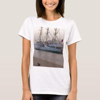 Tall Ship Mir And Submarine T-Shirt