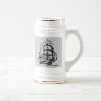 Tall ship mug design