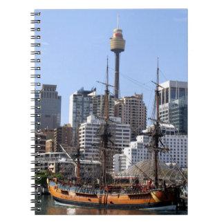 Tall Ship Notebook
