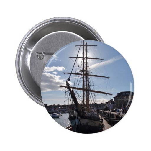 Tall Ship Pelican Of London Buttons