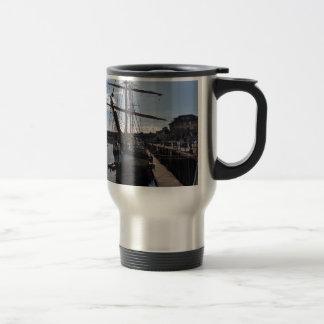 Tall Ship Pelican Of London Travel Mug