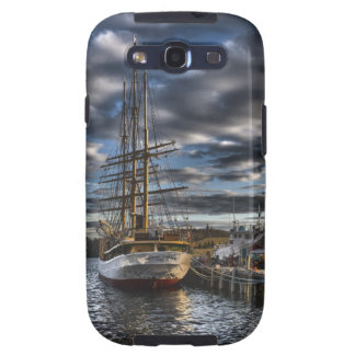 Tall Ship Picton Castle HDR Samsung Galaxy S3 Cover