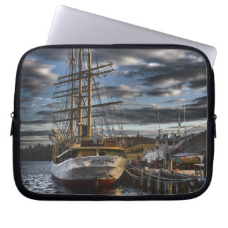 Tall Ship Picton Castle HDR Laptop Sleeves