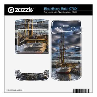 Tall Ship Picton Castle HDR Skins For BlackBerry Bold