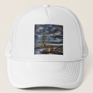 Tall Ship Picton Castle HDR Trucker Hat