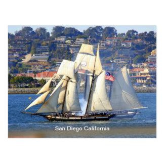 Tall Ship Postcard