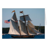 Tall Ship Pride of Baltimore Greeting Card