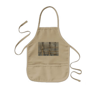 Tall Ship Rigging Wires Kids' Apron