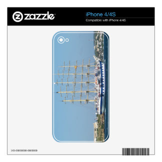 Tall Ship Royal Clipper Skin For iPhone 4S