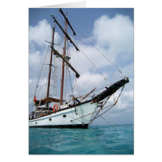 Tall Ship Sailing ~ Greeting Card