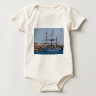 Tall Ship Sea Cloud II Baby Bodysuit