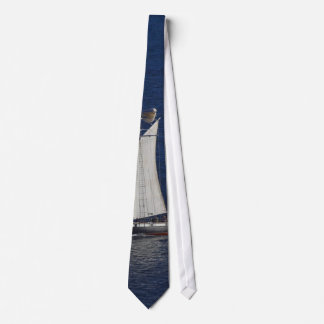 Tall Ship Seen From The Cabrillo Monument Tie