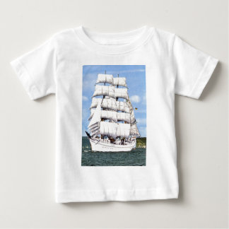 Tall ship -square rigger baby T-Shirt