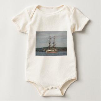 Tall ship Stavros S Niarchos. Baby Bodysuit