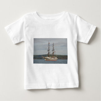 Tall ship Stavros S Niarchos. Baby T-Shirt
