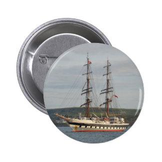 Tall ship Stavros S Niarchos. Button
