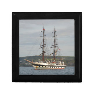 Tall ship Stavros S Niarchos. Jewelry Box