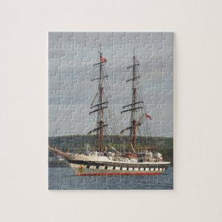 Tall ship Stavros S Niarchos. Jigsaw Puzzle