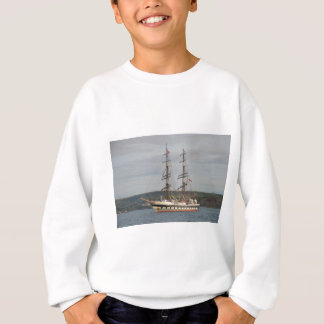 Tall ship Stavros S Niarchos. Sweatshirt