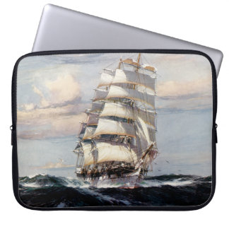 Tall Ship Thessalus Laptop Sleeve