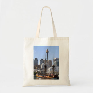 Tall Ship Tote Bag