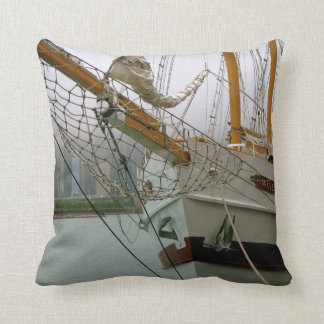 Tall Ship Windy Pillow