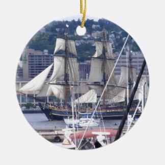 tall ships 004.jpg ceramic ornament