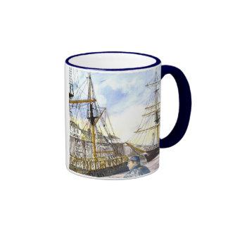 'Tall Ships Admired' Mug