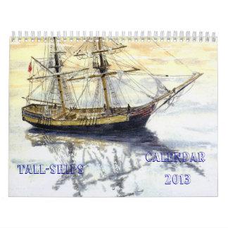 'Tall Ships' Calendar 2013