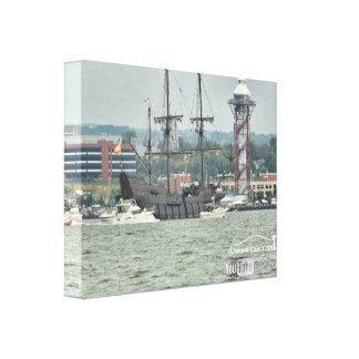 Tall Ships Erie PA 2016 el galeon ship Canvas Print