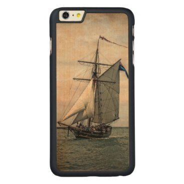Tall Ships Festival Carved Maple iPhone 6 Plus Slim Case