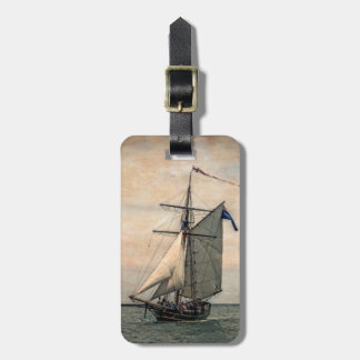 Tall Ships Festival, Digitally Altered Bag Tag