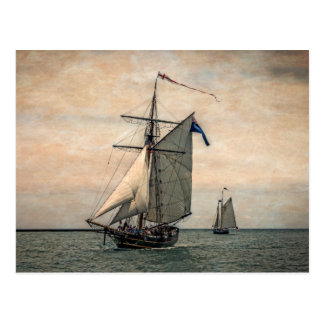 Tall Ships Festival, Digitally Altered Postcard