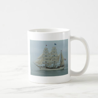 Tall ships hook head 071 classic white coffee mug