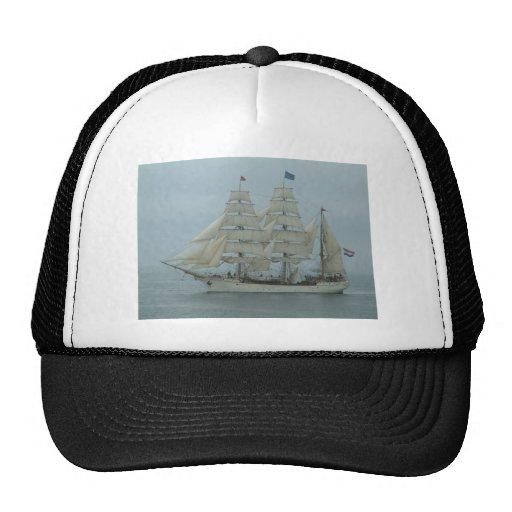 Tall ships hook head 071 trucker hat